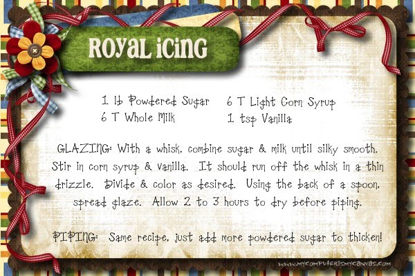 Cookie Exchange Easy Royal Icing Recipe My Computer Is My Canvas