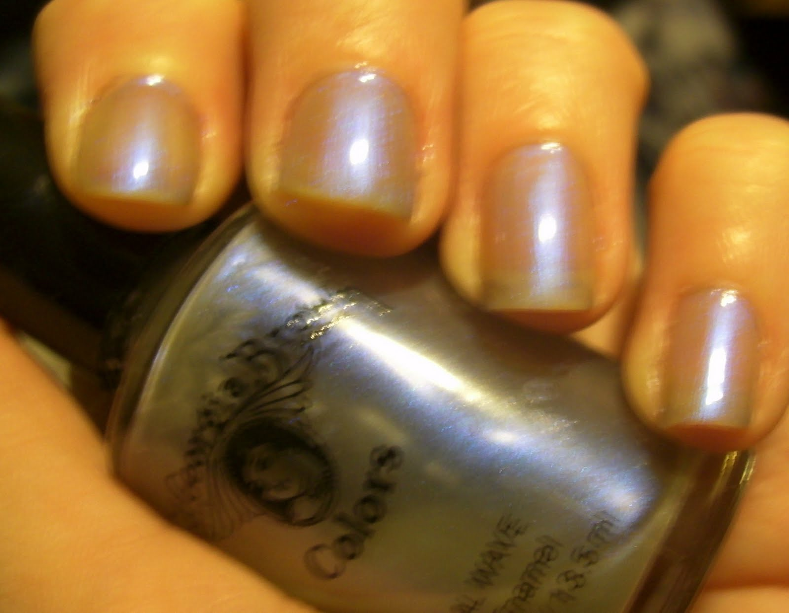 Kitty Luvs Color!: Sweet georgia Brown Nail Polish, no name?