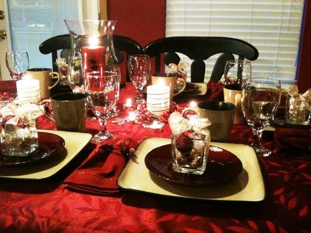 My Family Christmas Eve Table Setting