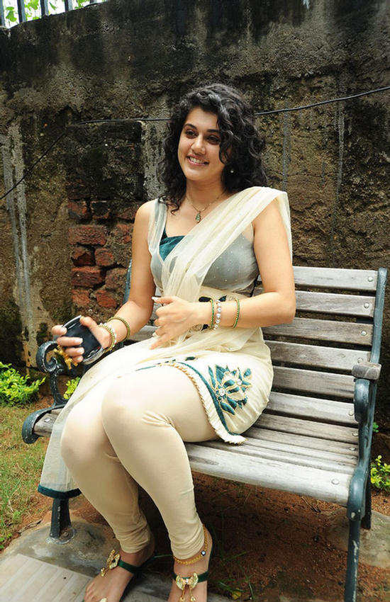 Model Turned Actress Tapsee Is A Year Old Baby In The South Indian Film Industry She Debuted In Telugu Film Jhummandhi Naadham