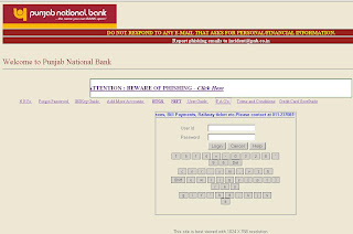 pnb net banking service charges