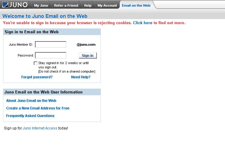 How to login to webmail account