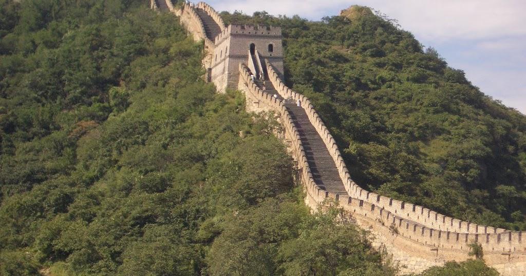 Chinesische Mauer Vom Mond