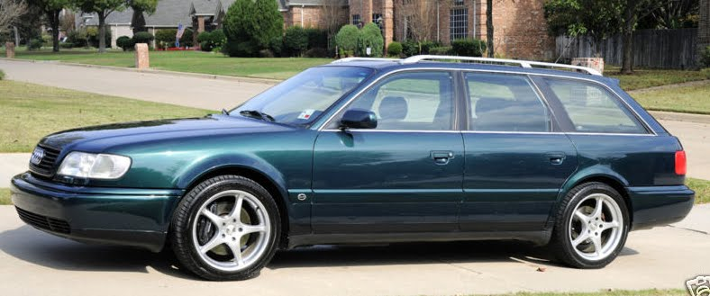 Just A Car Geek 19955 Audi S6 Avant With Rs2 Upgrades