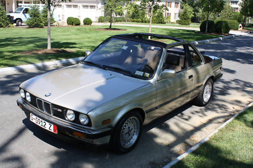 Just A Car Geek: 1985 BMW E30 Baur TC