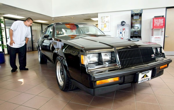 just a car geek brand new 1987 buick regal gnx not for sale. Black Bedroom Furniture Sets. Home Design Ideas
