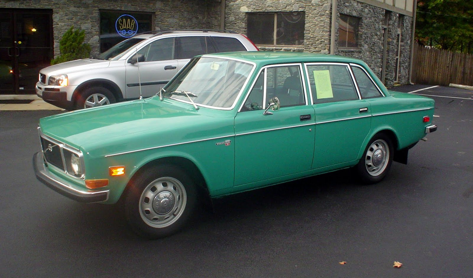 1972 Volvo 144s What It Meant To Drive A Green Car Back In 72