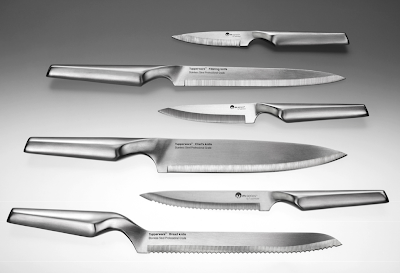 Tupperware's Stainless Steel Professional Grade Knives