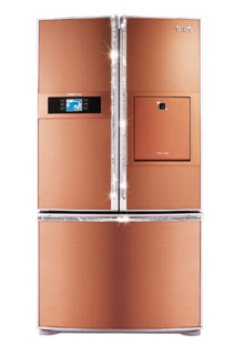 Copper Kitchen Appliances Refrigerator