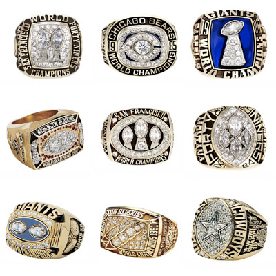 Rings from 1984-1992