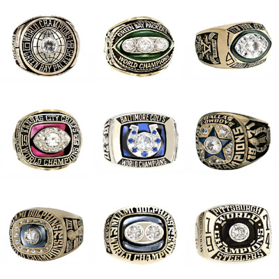Rings from 1966-1974