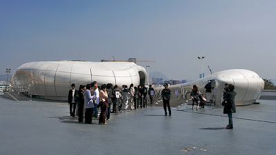 Mobile art pavilion for Chanel by Zaha Hadid - if it's hip, it's here