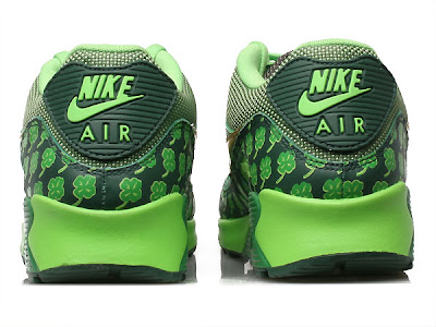 get cheap 9e757 f3ddb Nike Air Max 90 QK Special Edition for St. Patricks Day! One day a year,  everyone wants to be Irish. Get into to the spirit of St. Patricks Day  with this ...