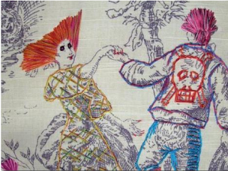 If Its Hip Here Archives Twisted Toile Witty Wallpaper Home Accessories With A Modern
