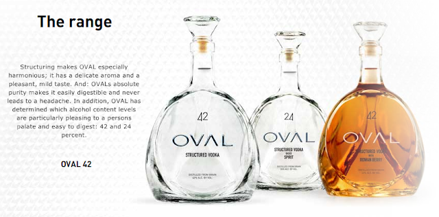 oval vodkas