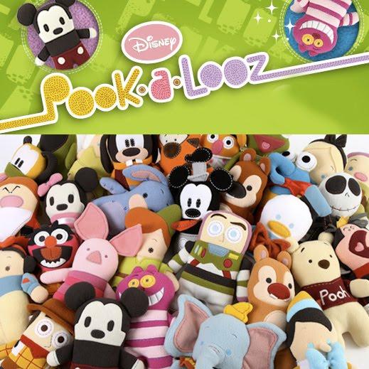 Disney Pook-A-Looz Plushies