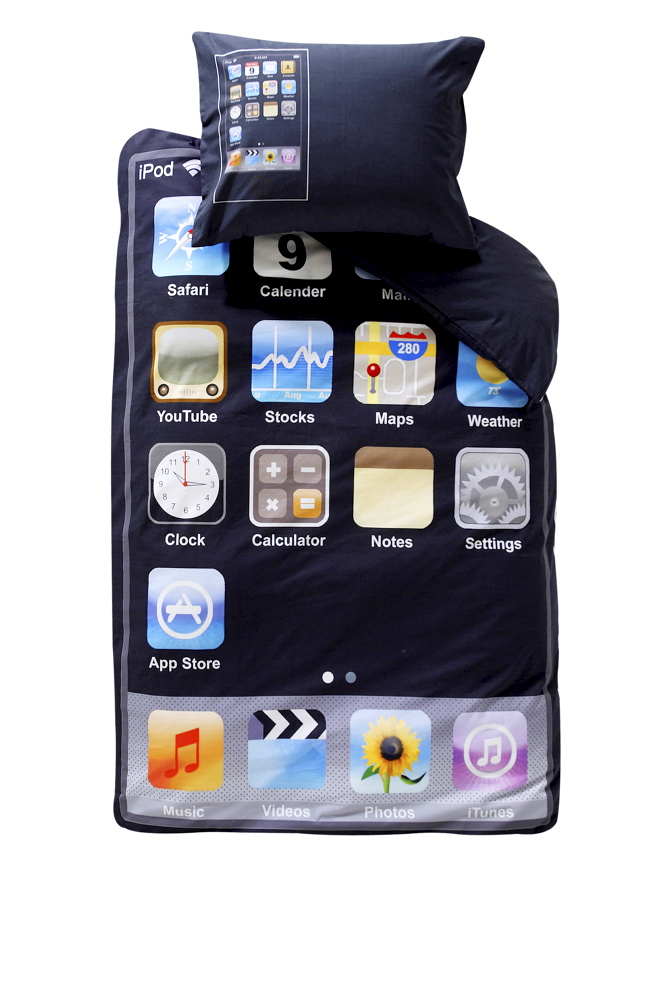 iphone bedding