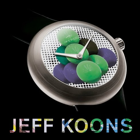 Jeff Koons for Ikepod