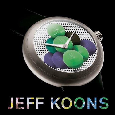 Jeff Koons for Ikepod