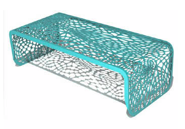 Kitchen Table Turquoise