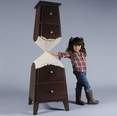 Whimsy furniture Whimsical Wood Beaver Cabinet Retro Renovation Judson Beaumonts Latest Whimsical Furniture From Straight Line