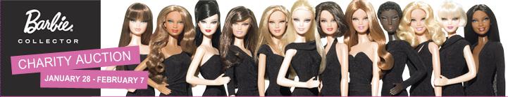 barbie charity auction