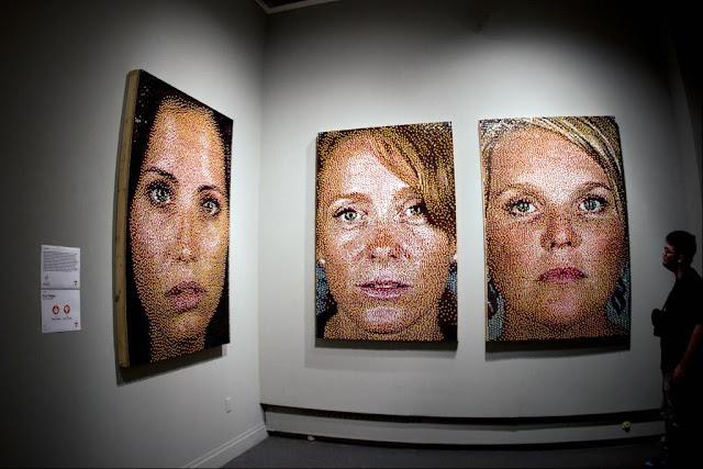 pushpin portraits