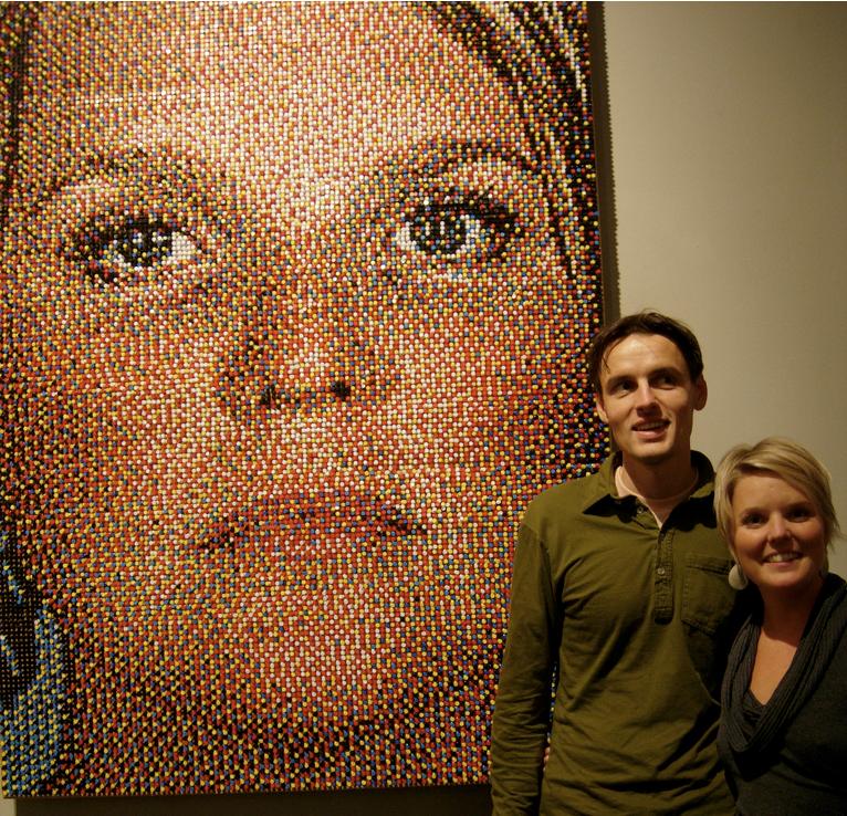 Eric Daigh Pushpin Portraits