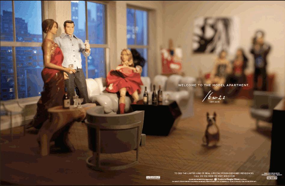 barbie dolls in advertising
