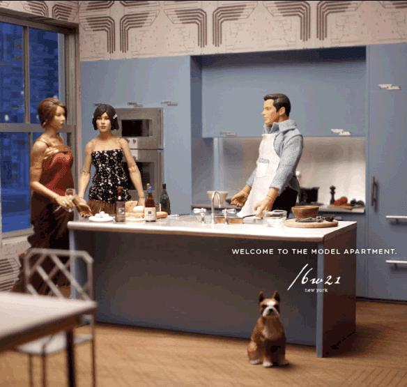 ad campaign for zac posen apartments