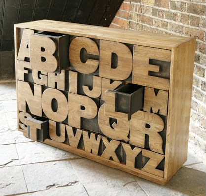 Alphabet Chest by Kent and London