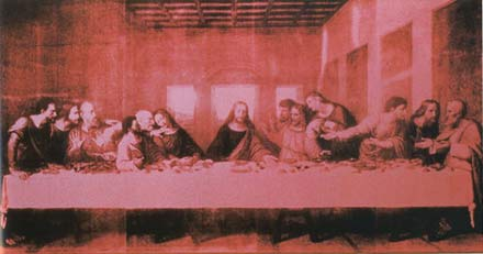 Andy Warhol's Last Supper (pink), 1986
