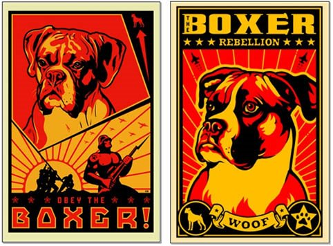 Boxer posters