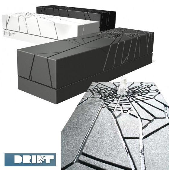 Water Web Bench by Drift Design
