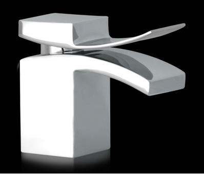 M faucet in chrome