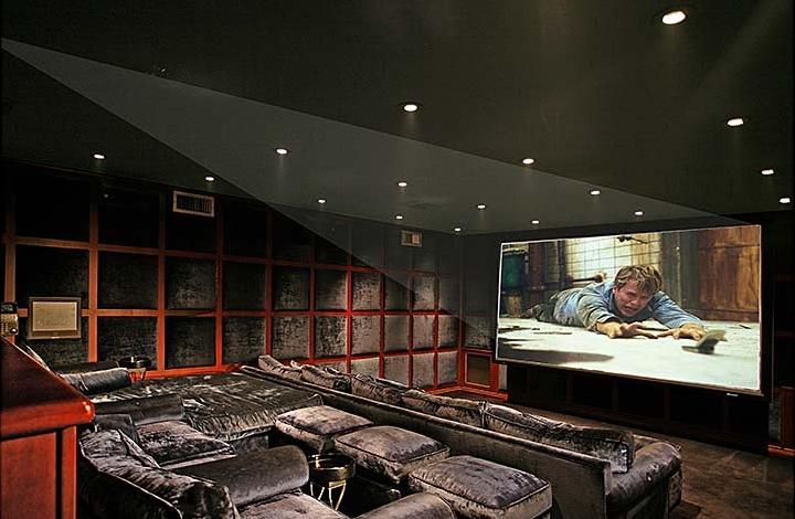 indoor home theater