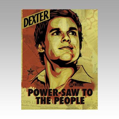 shepard fairey dexter poster