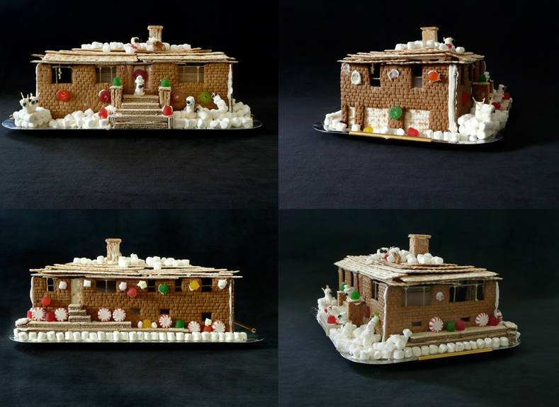 If It\'s Hip, It\'s Here (Archives): The Hippest Gingerbread Houses ...