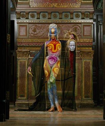 veruschka body painting