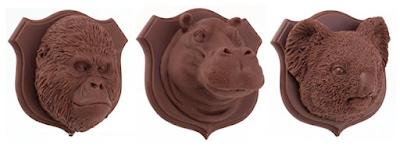 Endangered Species Chocolate Wall Trophies