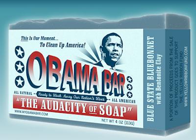 Obama Bar soap