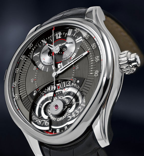 Montblanc Unveilu0027s Two Faced Watch, The Metamorphosis