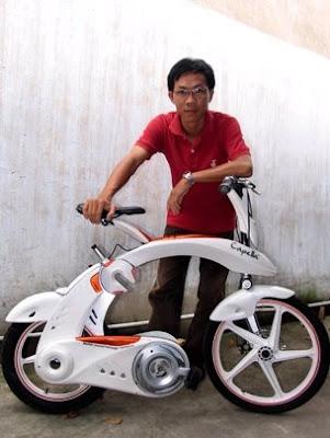 Capella electric folding bike