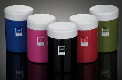pantone storage jars
