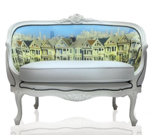 Digitally Printed Home Furnishings - SF Settee