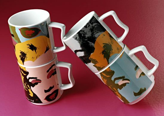 Rosenthal Warhole Marilyn Mugs