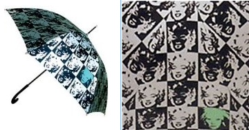 Warhol Marilyn Umbrella