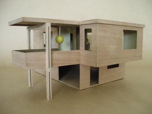 Modernist Doll Houses by Gidon Bing