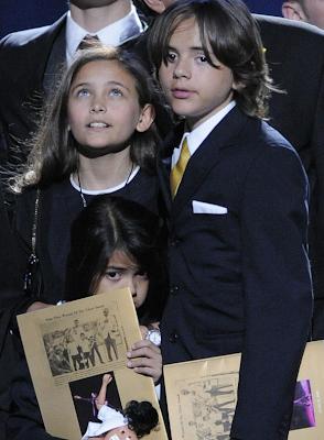 Michael Jackson's children: Paris Michael Katherine, Prince Michael II (aka Blanket) and Michael Joseph Jr. (aka Prince Michael)