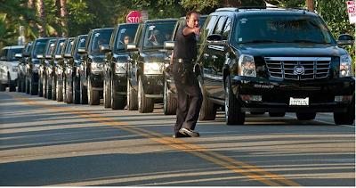 michael jackson funeral motorcade